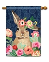 Bunny Bliss BreezeArt Standard House Flag