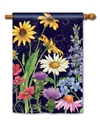 Wildflower Mix  BreezeArt Standard House Flag