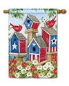 All American Birdhouses BreezeArt Standard House Flag