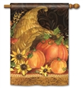 Autumn Bounty BreezeArt Standard House Flag