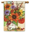 Autumn Glory BreezeArt Standard House Flag