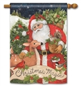 Christmas Magic BreezeArt Standard House Flag
