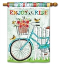 Enjoy the Ride BreezeArt Standard House Flag