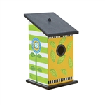 Frolic Leaf & Flower Pop Birdhouse