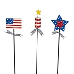 Patriotic Plant Pokes by Lynn Morris