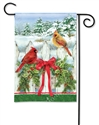 Winter Splendor BreezeArt Garden Flag