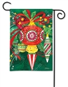 Merry and Bright BreezeArt Garden Flag