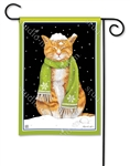 It's Cold Outside BreezeArt Garden Flag
