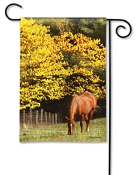Out to Pasture BreezeArt Decorative Garden Flag