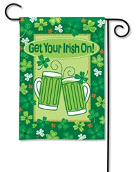 Get Your Irish On BreezeArt Garden Flag