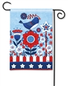 Freedom Fence BreezeArt Garden Flag