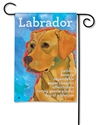 Yellow Lab Decorative Garden Flag