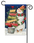 Signs of Christmas BreezeArt Garden Flag