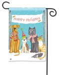 Pet Holiday BreezeArt Garden Flag