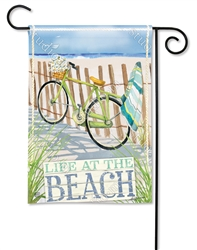 Beach Trail BreezeArt Garden Flag