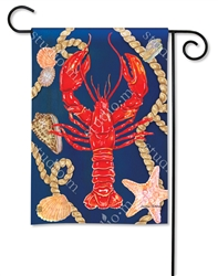Lobster BreezeArt Garden Flag