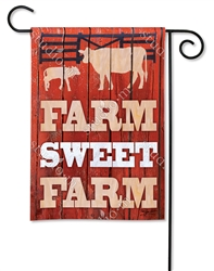 Down on the Farm BreezeArt Garden Flag