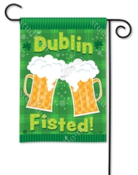 Dublin Fisted BreezeArt Garden Flag