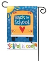 School is Cool BreezeArt Garden Flag