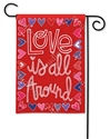 Mix It Up Valentine BreezeArt Garden Flag