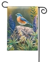 Flower Watching BreezeArt Garden Flag