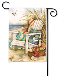 Time to Relax BreezeArt Garden Flag