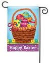 Basket Full of Eggs BreezeArt Garden Flag