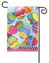 Egg Toss BreezeArt Garden Flag