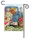 Flower Pickin' Time BreezeArt Garden Flag