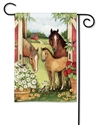 Springtime on the Farm BreezeArt Garden Flag