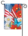 Red, White, and Blue BreezeArt Garden Flag
