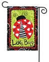 Love Bug BreezeArt Garden Flag