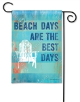 Beach Days BreezeArt Garden Flag