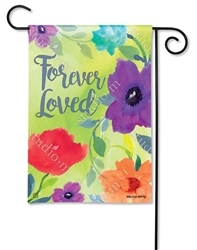 Forever Loved BreezeArt Garden Flag