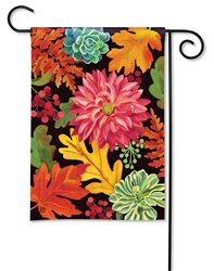 Vibrant Autumn Mix BreezeArt Garden Flag