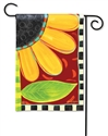 Whimsical Sunflower BreezeArt Garden Flag