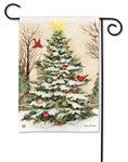 Decorate The Tree BreezeArt Garden Flag