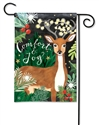 Comfort and Joy BreezeArt Garden Flag