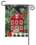 Homespun Christmas BreezeArt Garden Flag