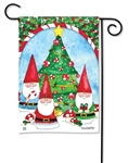 Trim the Tree BreezeArt Garden Flag