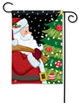 Santa Approved BreezeArt Garden Flag