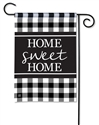 Black & White Check BreezeArt Garden Flag