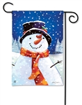 I Love Winter BreezeArt Garden Flag