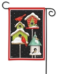 Winter Home BreezeArt Garden Flag