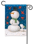 Winter Pals BreezeArt Garden Flag