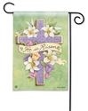 Easter Cross BreezeArt Garden Flag