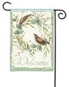 Eucalyptus Wreath BreezeArt Garden Flag