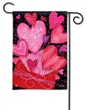 Sending Love BreezeArt Garden Flag