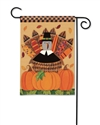 Pilgrim Turkey BreezeArt Garden Flag