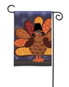 Tom Turkey BreezeArt Garden Flag
